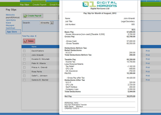 Wingubox online payroll has all you need in a payroll software system